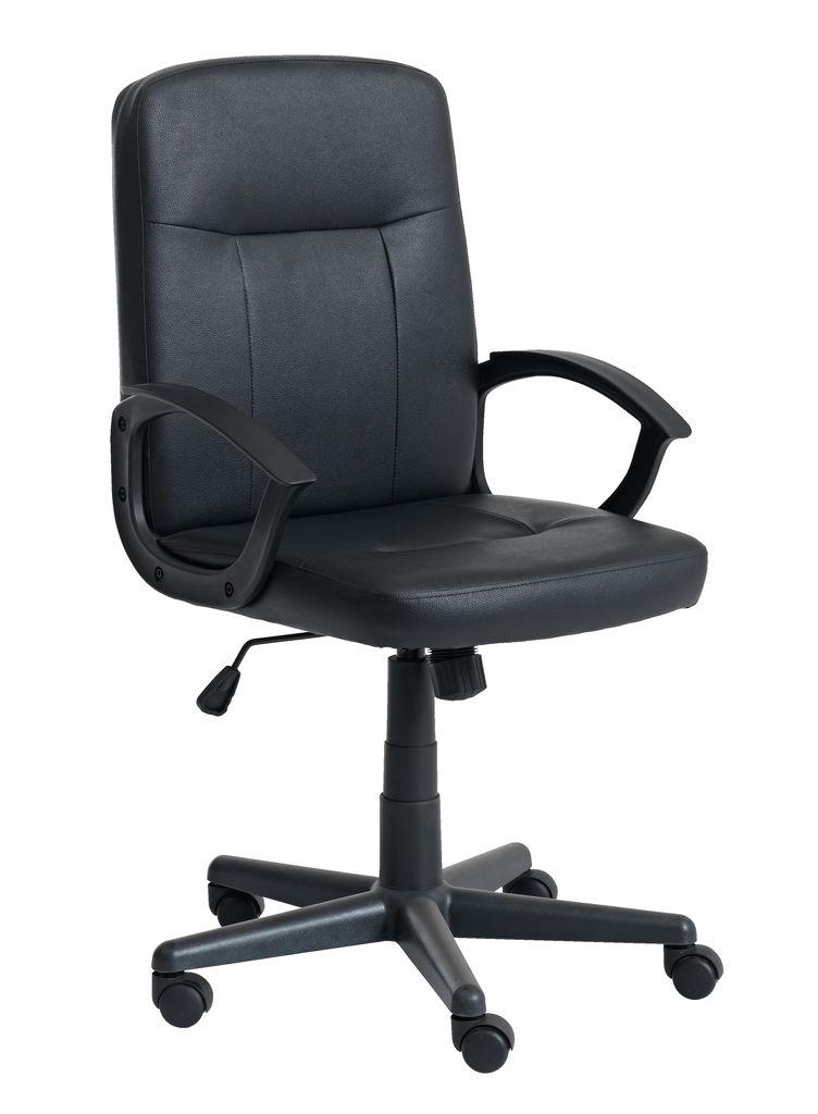 desk chair jysk wedding covers hire ipswich office nimtofte black
