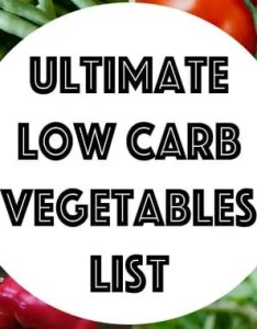 also low carb vegetables list searchable  sortable guide ketogasm rh