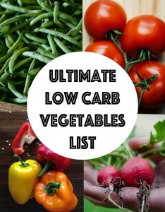 Complete list of low carb vegetables searchable  sortable ketogasm also guide rh