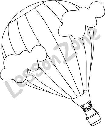 Balloon Template For Bulletin Board