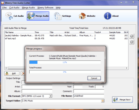 merge mp3 online