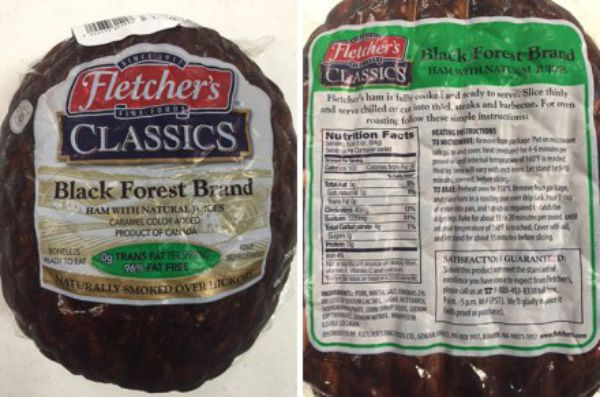 Black Forest Ham Sold At Sam39s Club And Costco Recalled