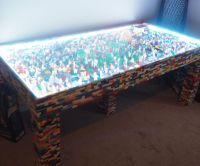 Light Up LEGO Coffee Table