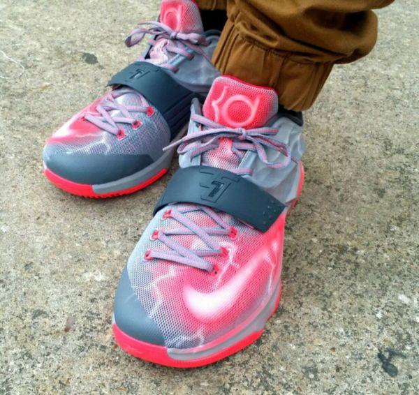 on sale d6d2e 91835 Denver Broncos Nike NFL Shoes. Nike KD 7 Weather the Storm