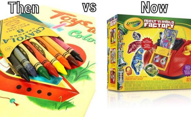 Your Favorite Childhood Toys Then And Now