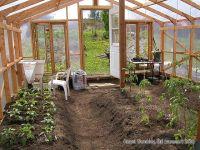 Build Garden Greenhouse - Wood Frame Greenhouse Design