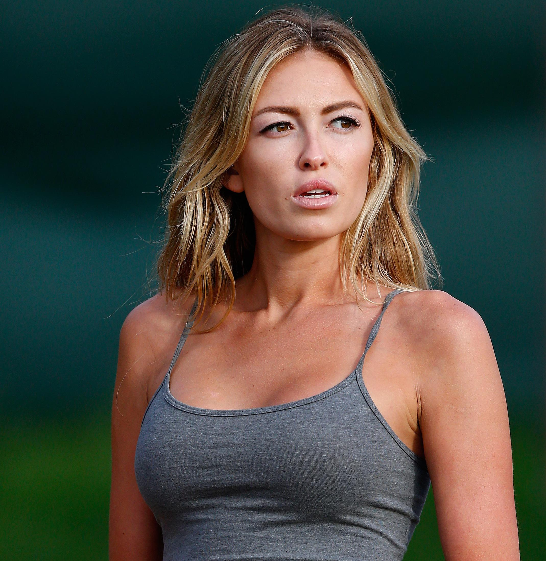 WATCH Paulina Gretzky Shows Legs and Cleavage in Sexy New