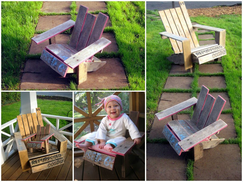 Mini Adirondack Chairs Mini Pallet Adirondack Chair Diy Guide 1001 Pallets