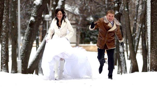 преимущества и недостатки зимней свадьбы