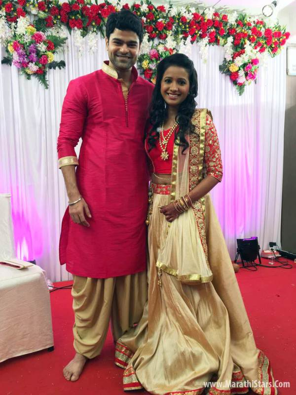 Sara Shrawan Marathi Actress Engagement Wedding - Year of Clean Water