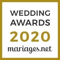 Vj Did, gagnant Wedding Awards 2020 Mariages.net