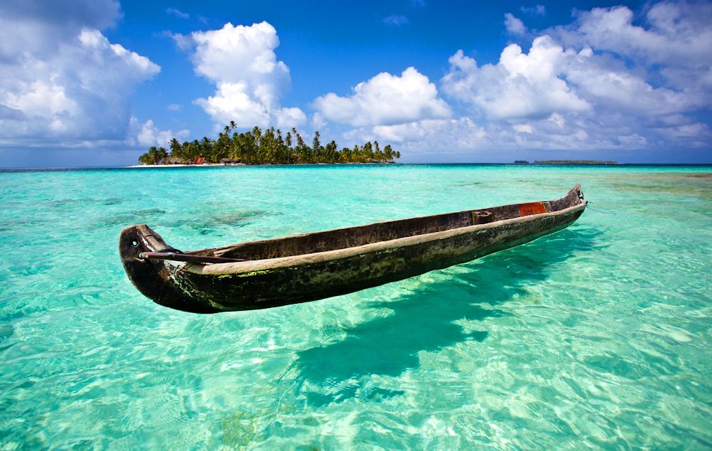 Dog Island San Blas Panama TEMPAT WISATA PALING INDAH DI DUNIA   35 Tempat Berenang Dengan Air Paling Jernih di Dunia