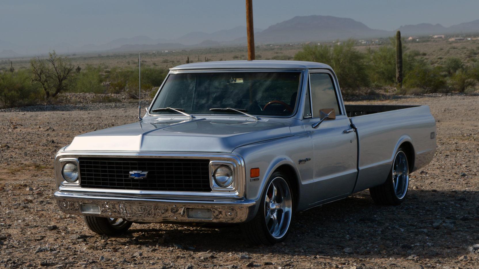 1971 chevrolet c10 custom deluxe pickup 1 full screen [ 1664 x 936 Pixel ]
