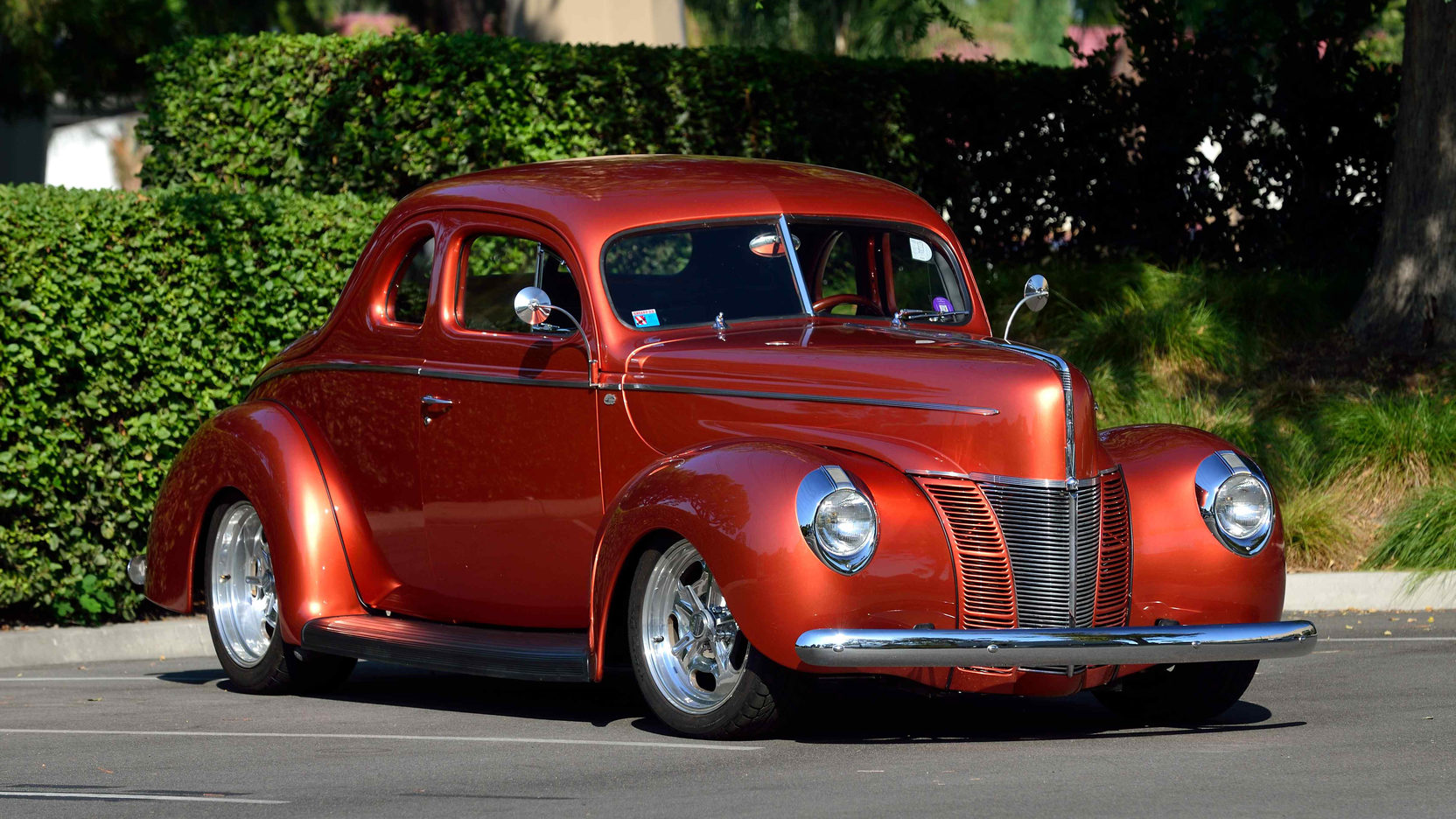 1940 Ford Deluxe Coupe Street Rod  S119  Anaheim 2015