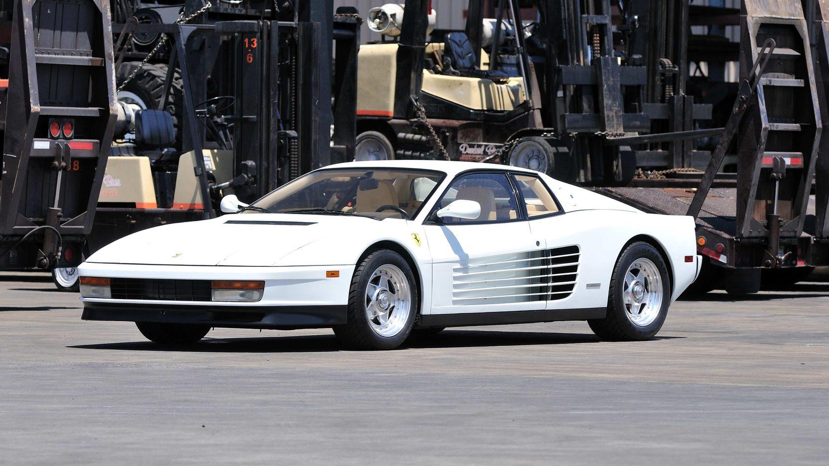 1988 Ferrari Testarossa S184 Monterey 2013
