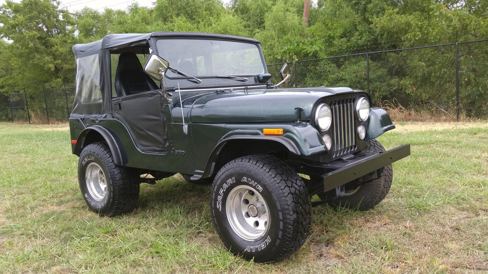 1975 jeep cj 5 4 full screen [ 1664 x 936 Pixel ]