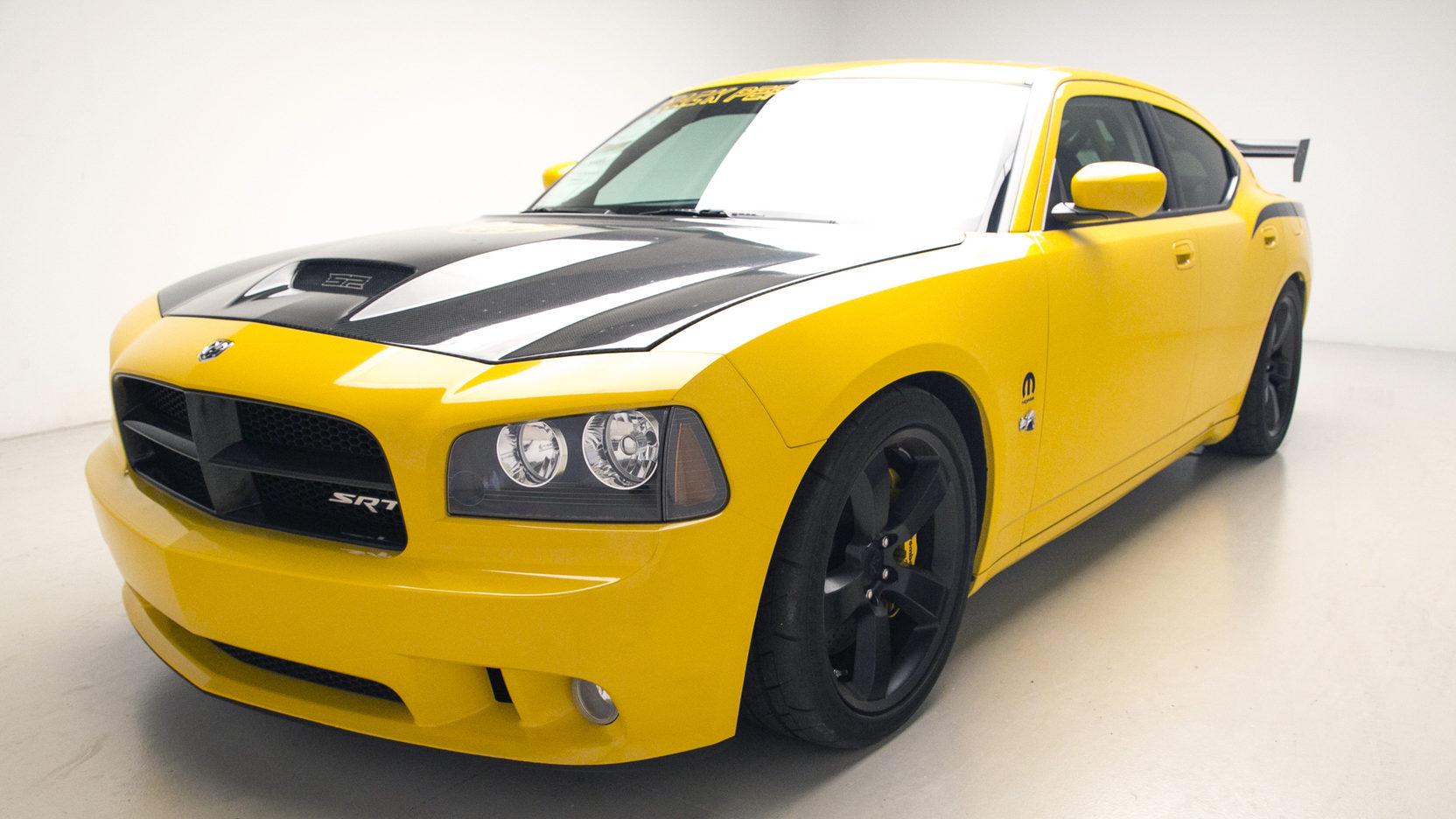 2008 Charger Srt8 Black