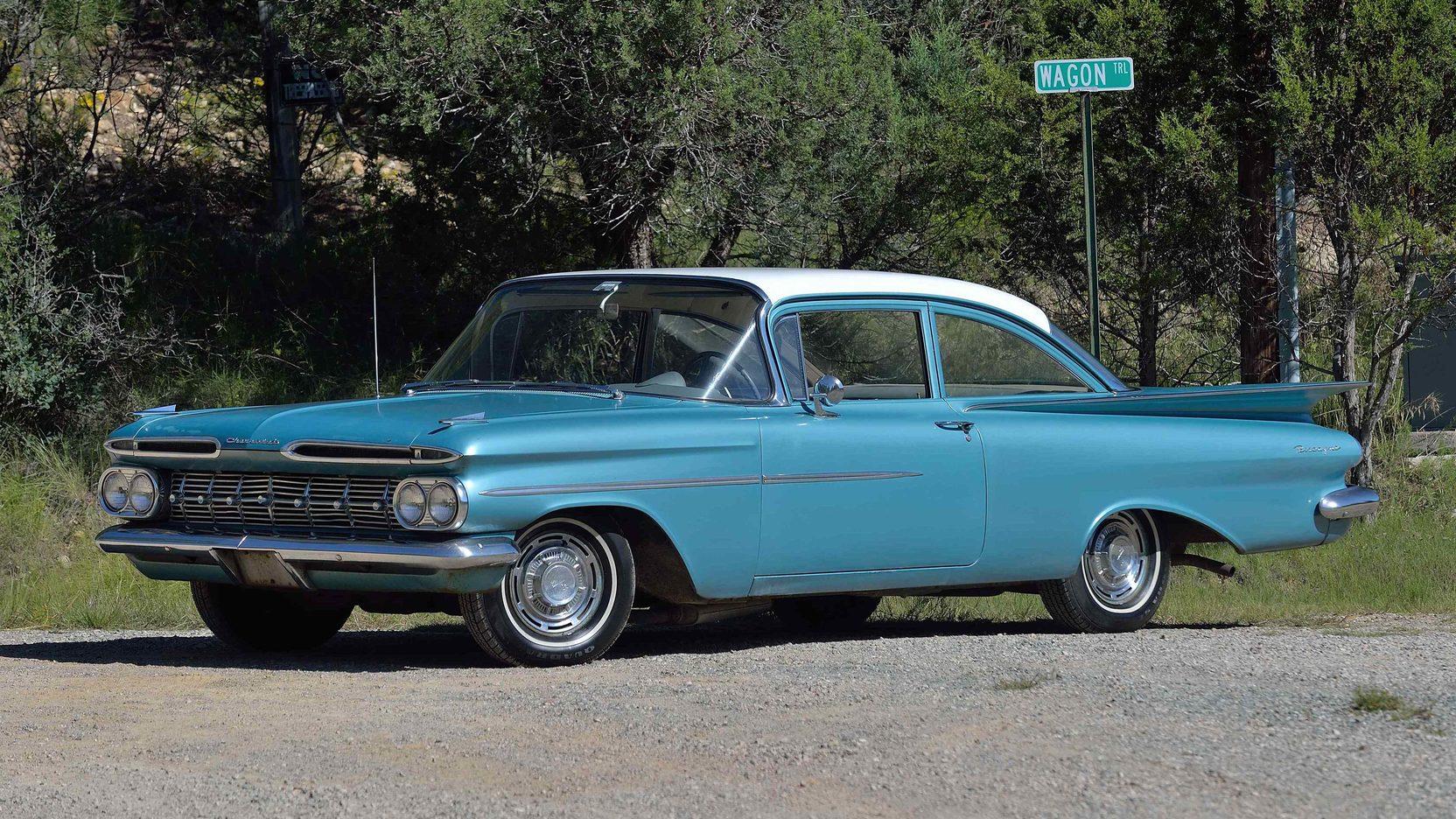 1959 Chevrolet Biscayne 235 Ci 3 Speed Lot W36 Dallas