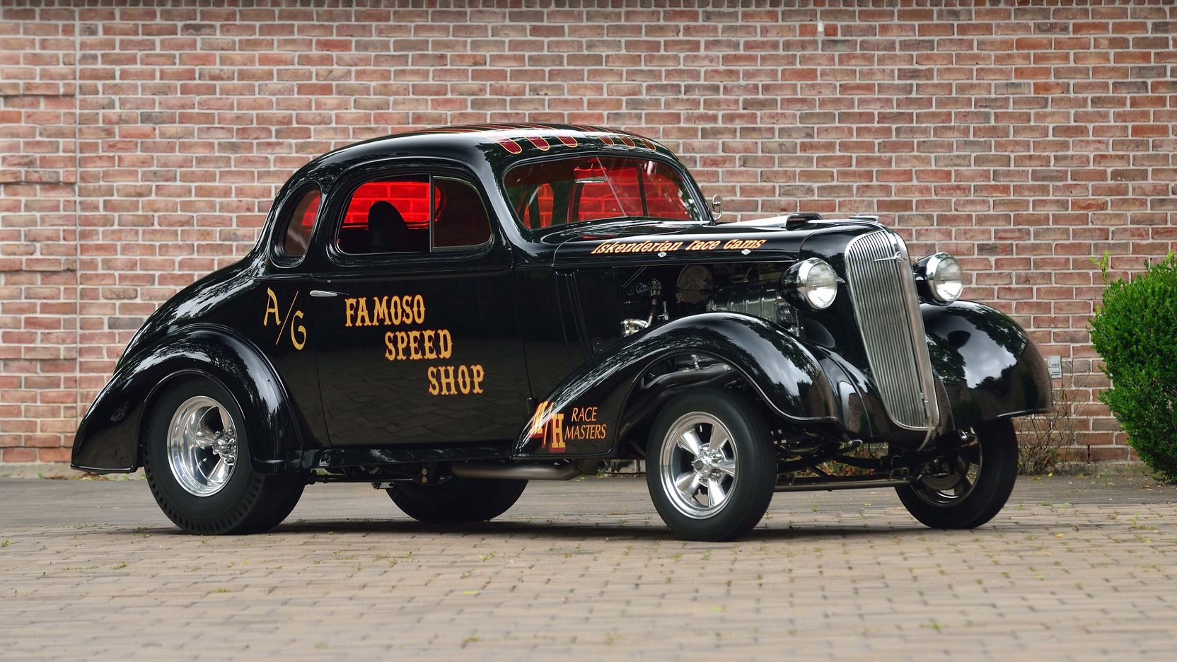 1936 Chevy Coupe Gasser - Year of Clean Water