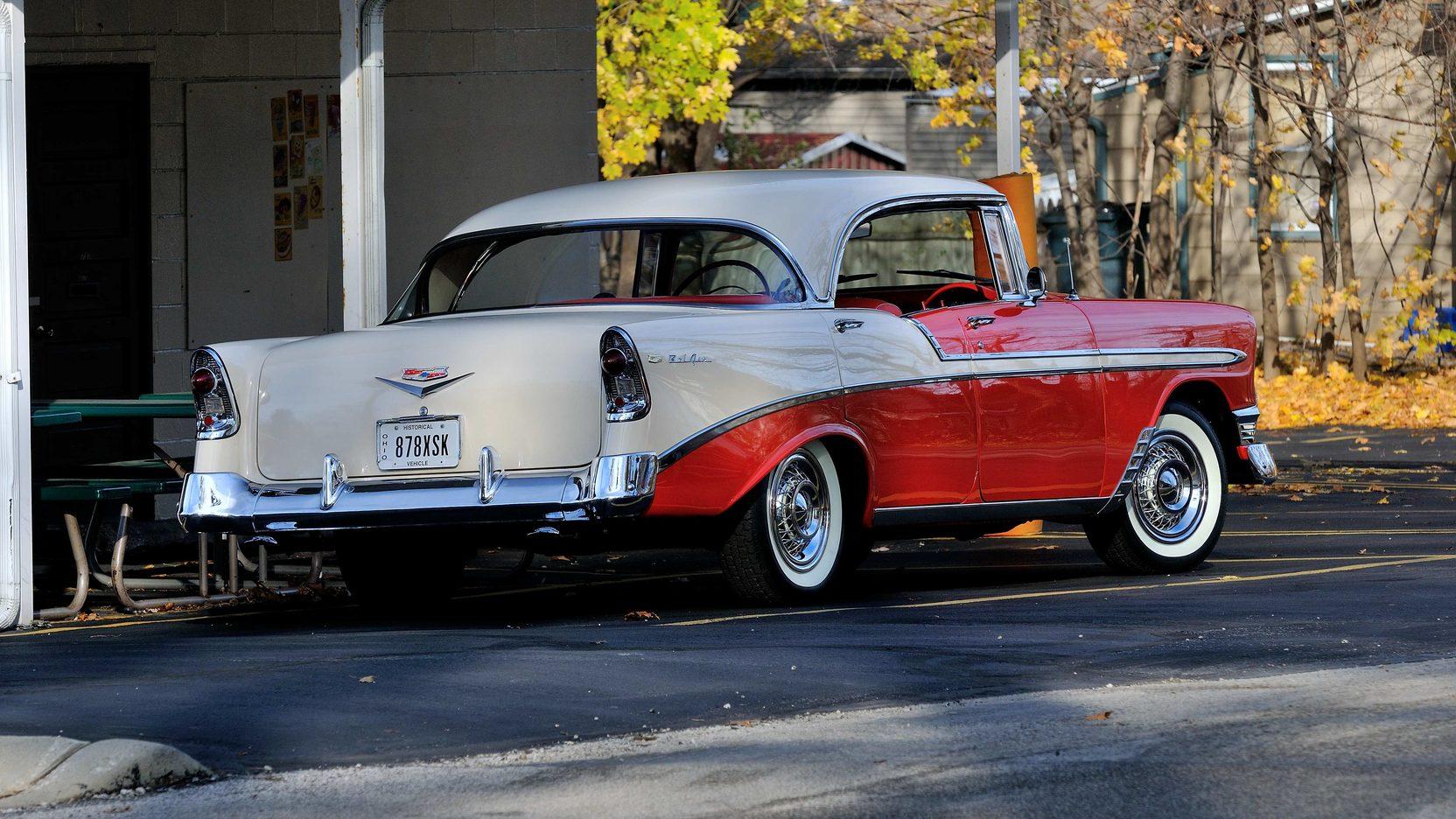 1957 Cars Restored Or Wallpapers 1956 Chevrolet Bel Air 4 Door Hardtop 265 Ci Automatic