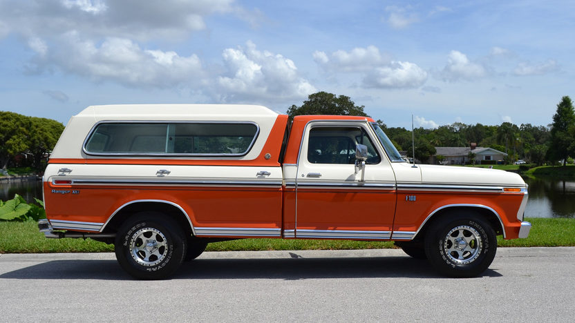 1974 Ford F100 Ranger XLT Pickup | G146 | Kissimmee 2016