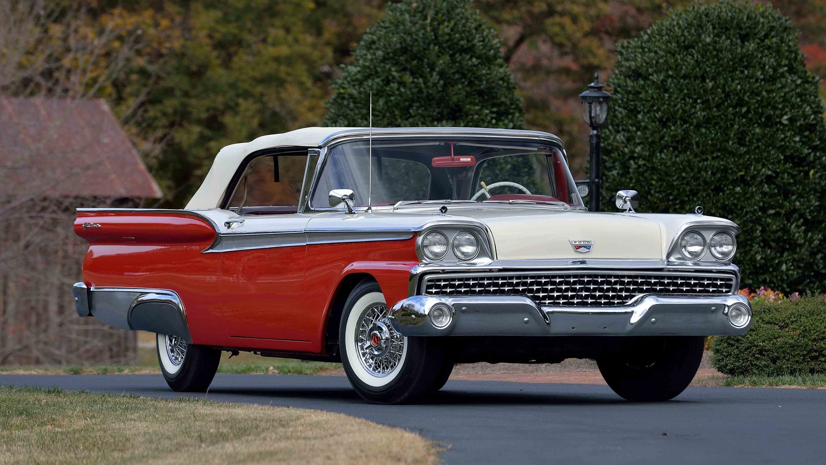 1959 ford fairlane 500 galaxie sunliner t144 kissimmee 2017