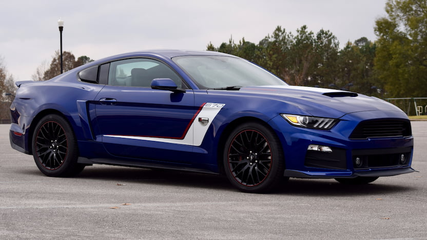 2016 ford mustang warrior