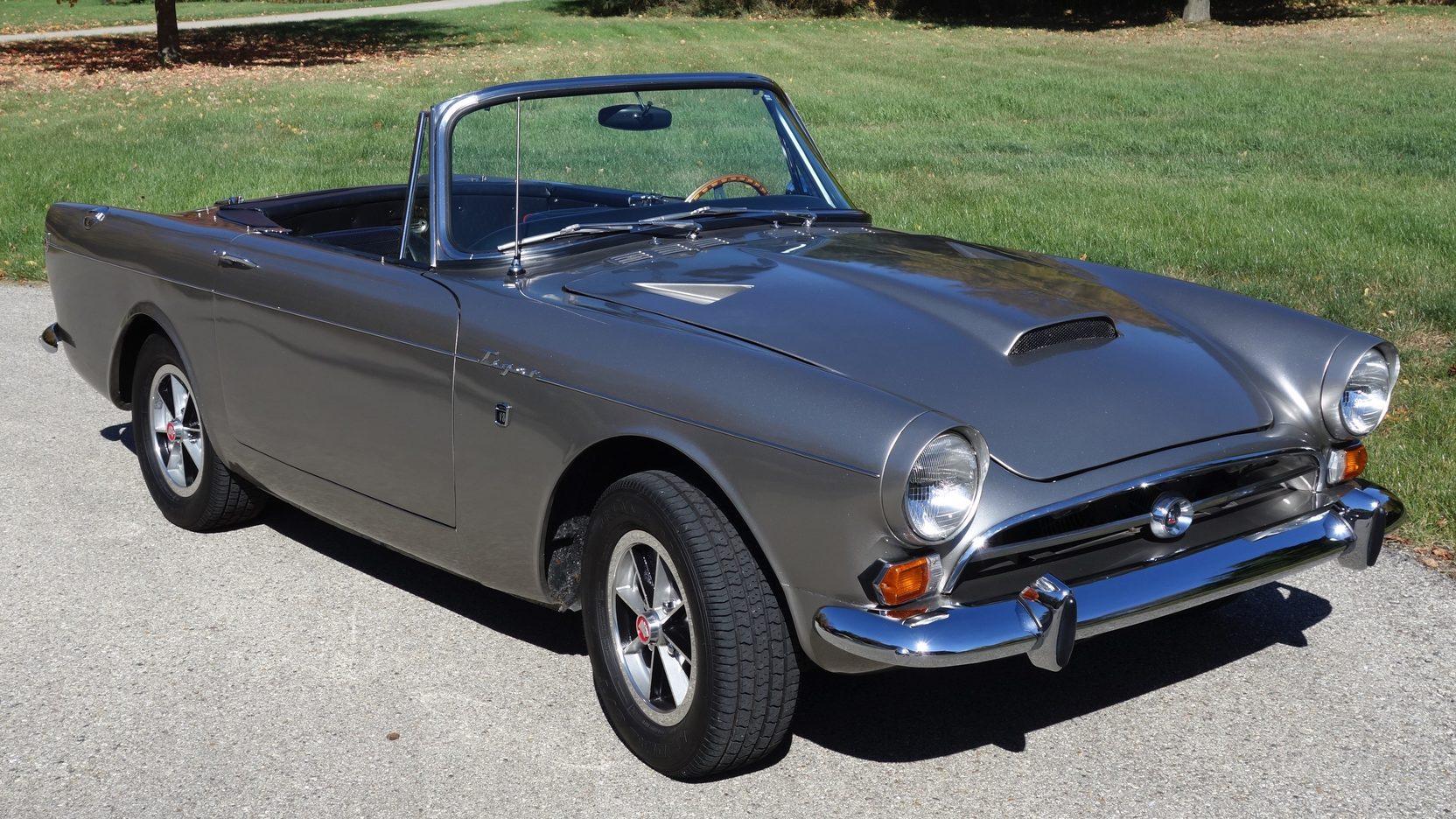 1966 sunbeam tiger mk 1a convertible [ 1664 x 936 Pixel ]