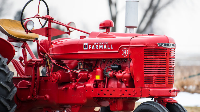 1950 Farmall H Wiring Diagram