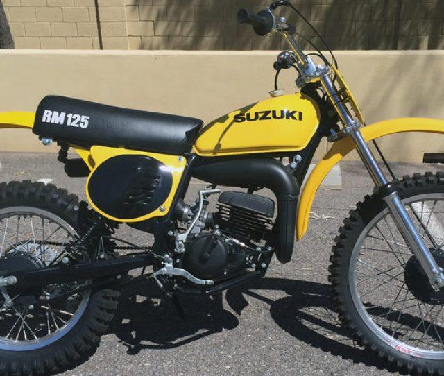 1976 Suzuki Rm 125 1