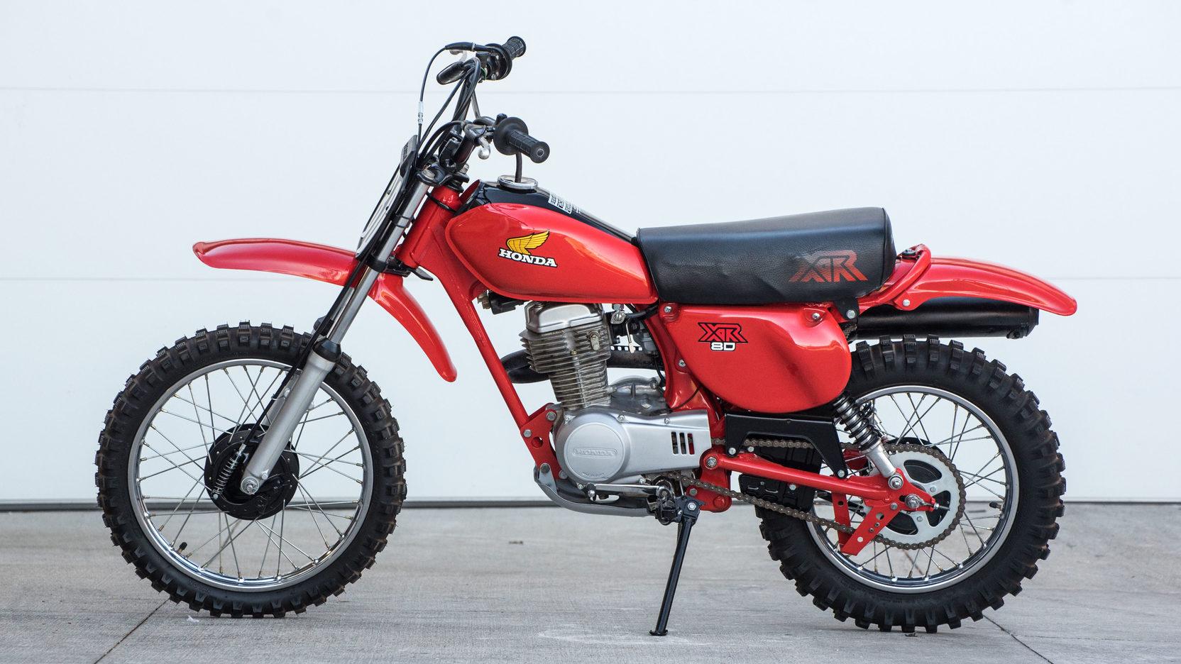 1981 Honda Xr80  W69  Las Vegas Motorcycle 2017
