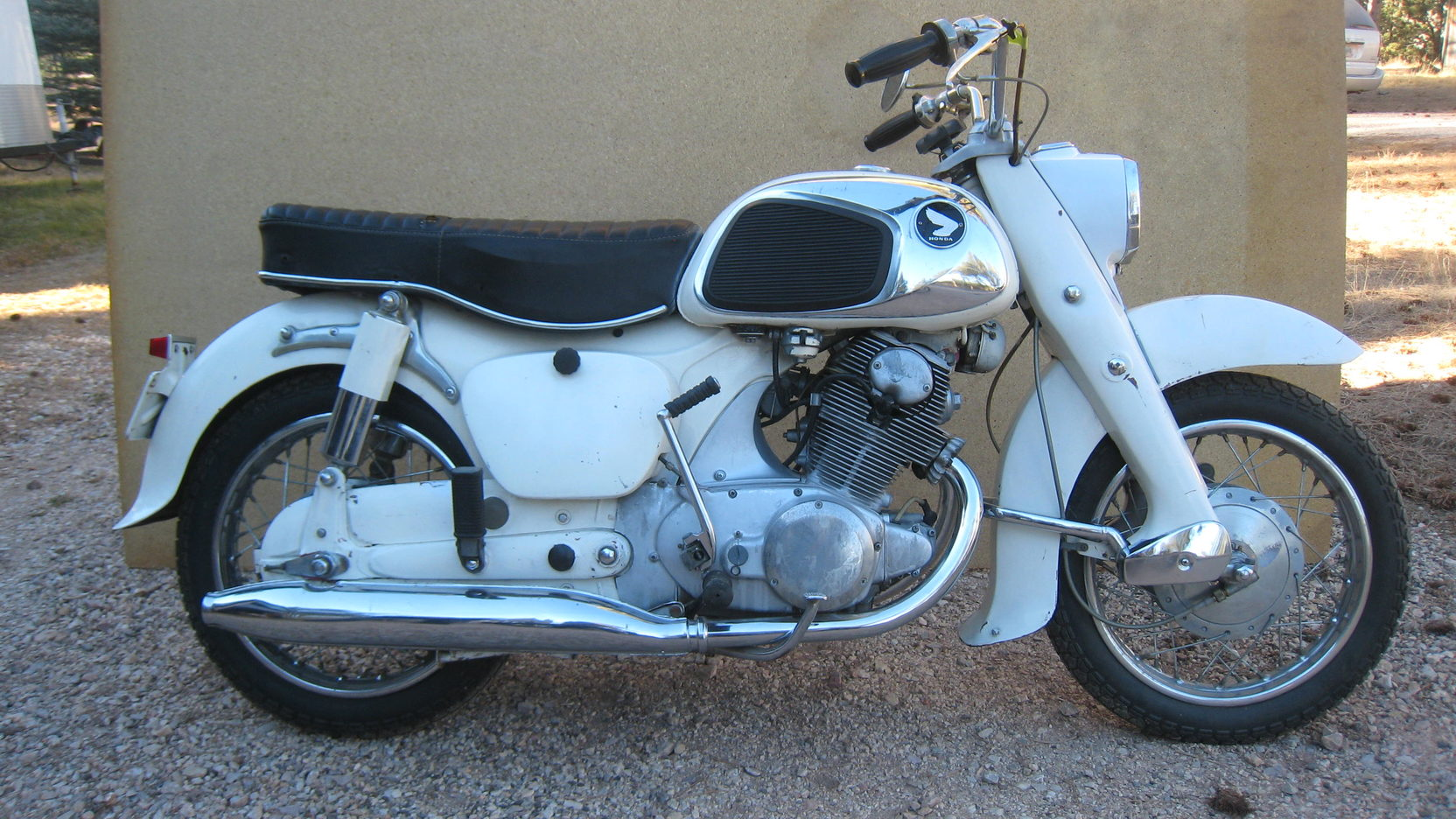 hight resolution of 1961 honda 305 dream 3 full screen