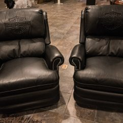 Leather Couch And Chair Revolving For Parlour Harley Davidson 2 Chairs K86 Las Vegas Full Screen