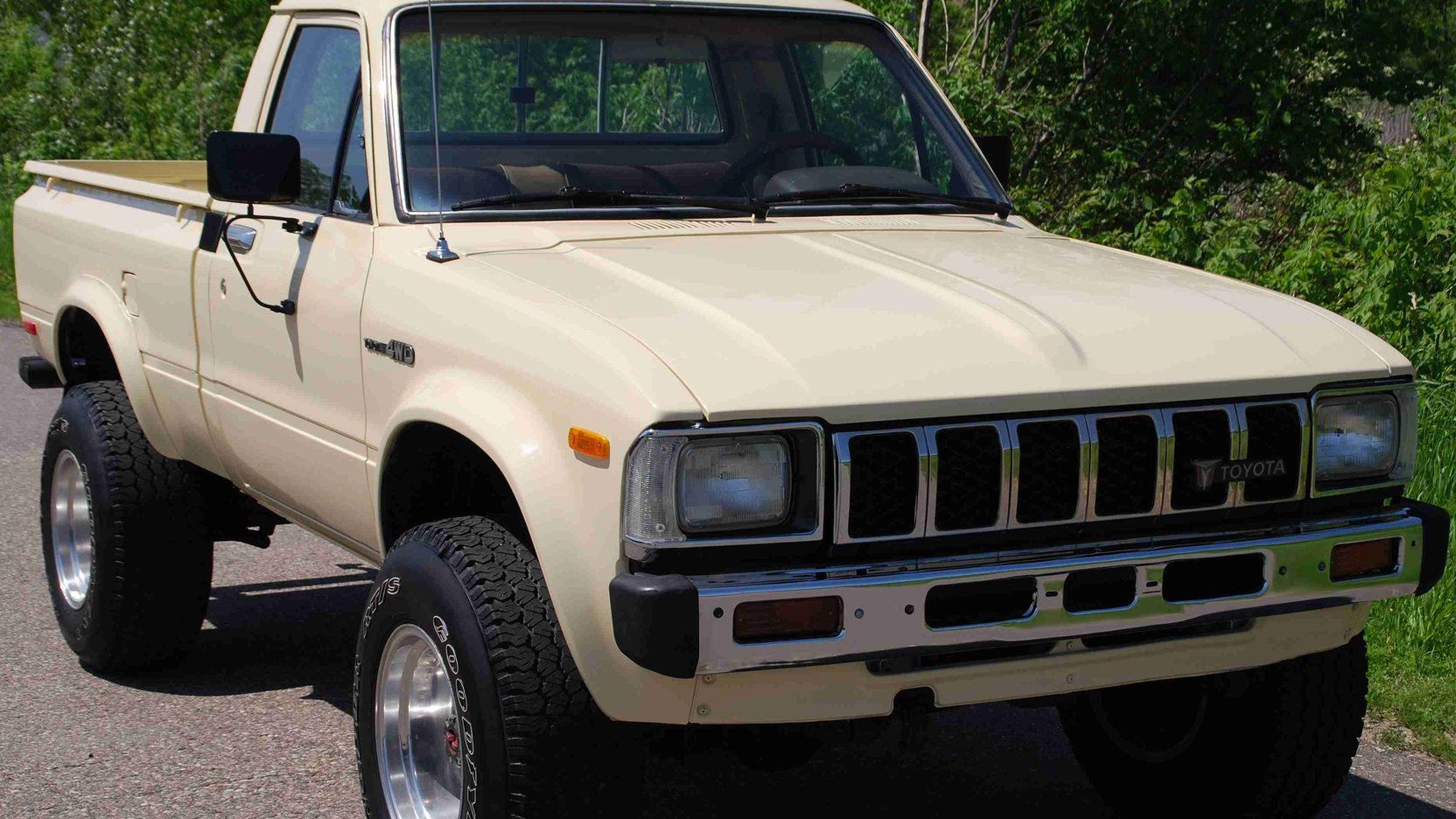 hight resolution of 1983 toyota 4x4 pickup 1 full screen