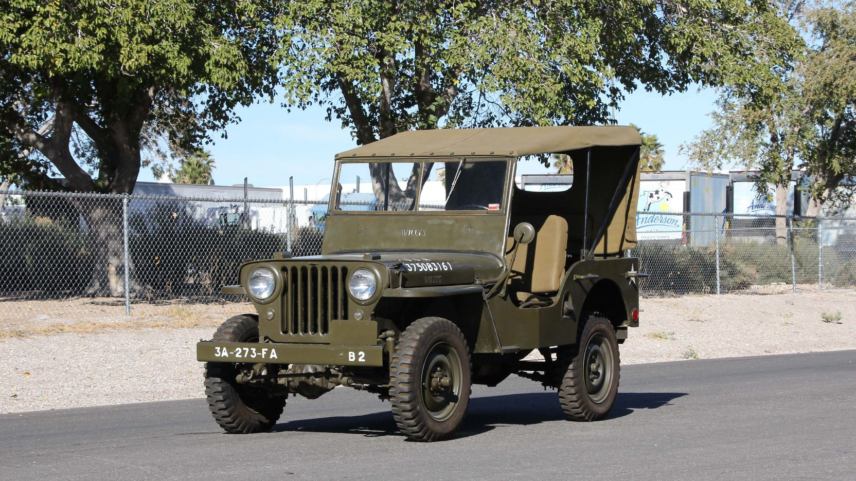 1948 willys military jeep 1 full screen [ 1664 x 936 Pixel ]