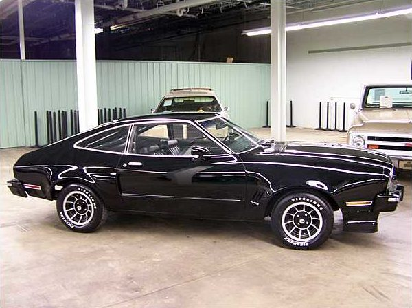 1975 Ford Mustang II Prototype 4 Speed Lot F133