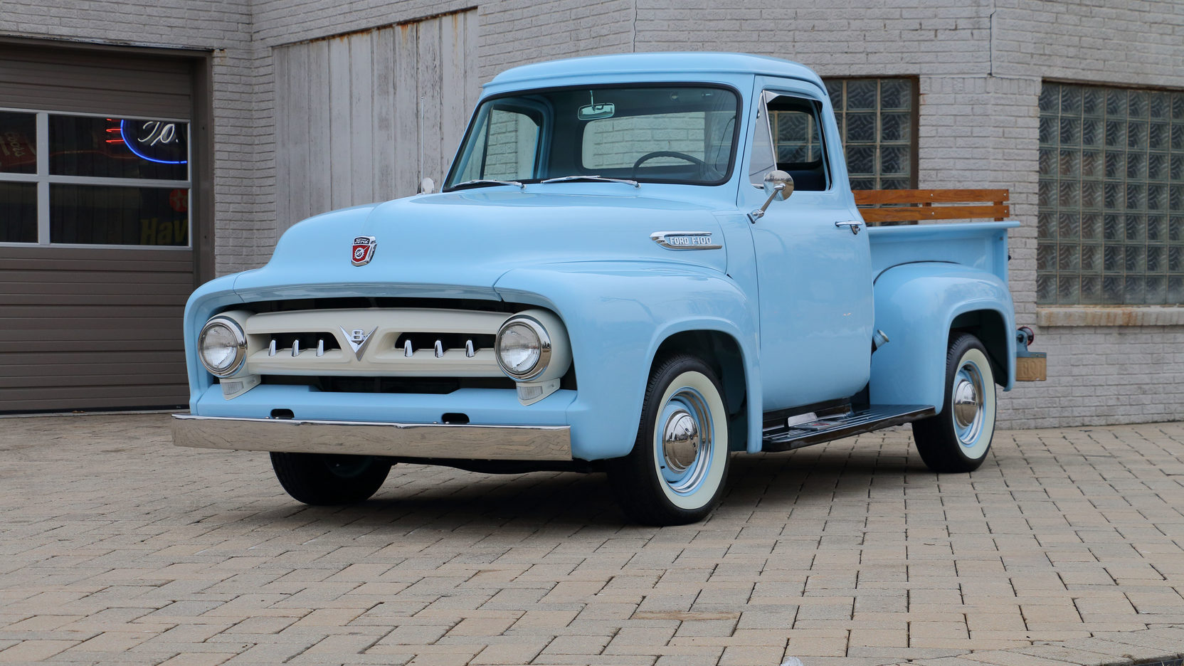 1953 ford f100 pickup 1 full screen [ 1664 x 936 Pixel ]