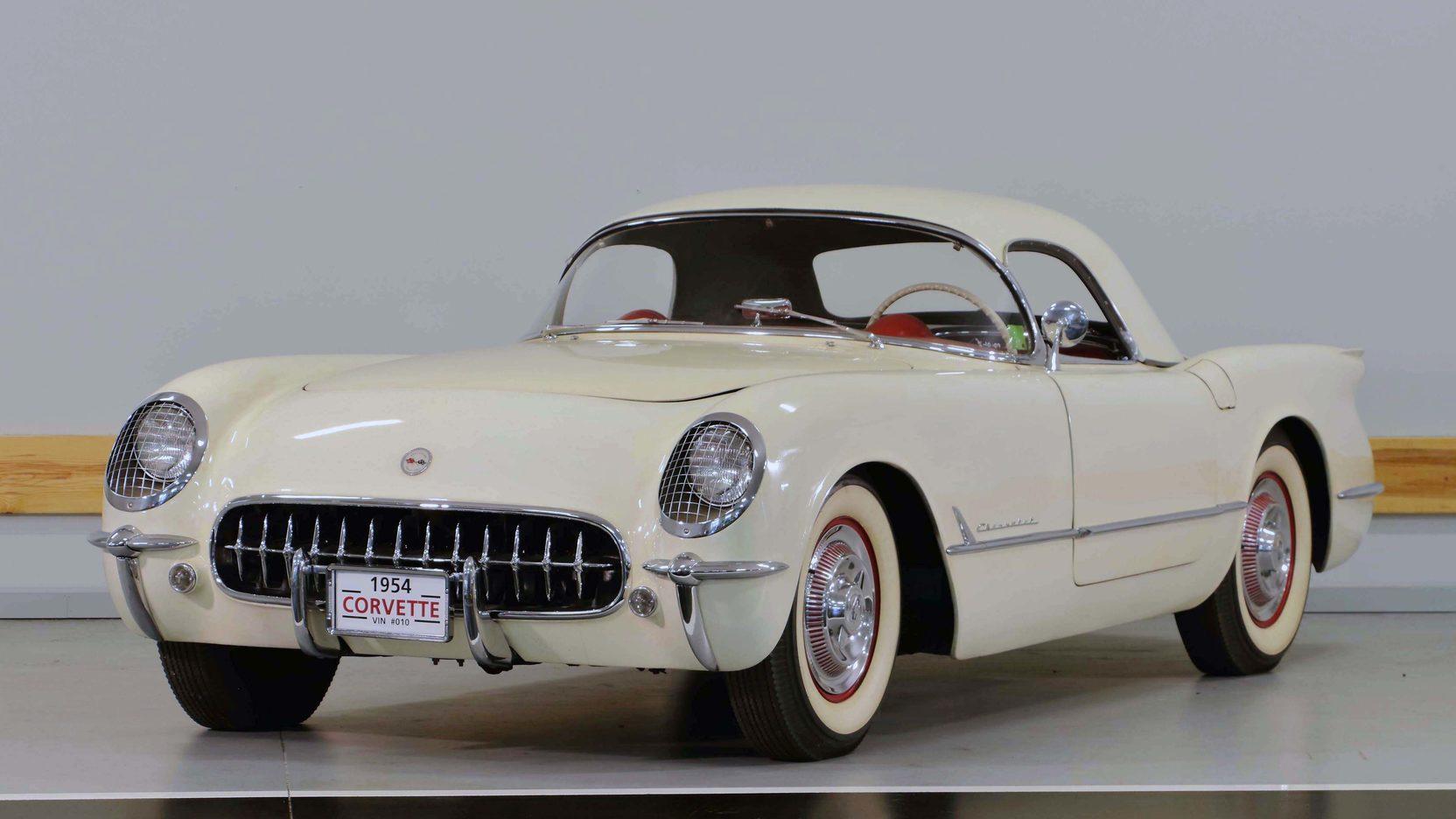 1954 Corvette Carburetors