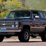 1985 Chevrolet K5 Blazer T129 Indy 2020