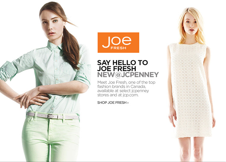Joe Fresh Jcpenney Locations