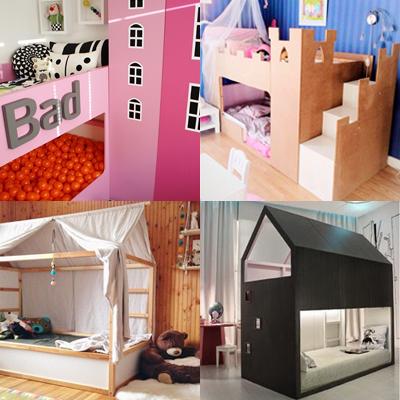 Les super transformations de lit pour enfant KURA dIkea  Momesnet