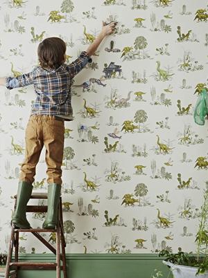 Dcoration de chambre thme dinosaure  Momesnet