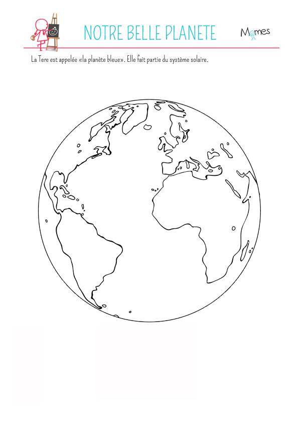 Comment Dessiner La Terre : comment, dessiner, terre, Comment, Dessiner, Planète, Terre, Gallery