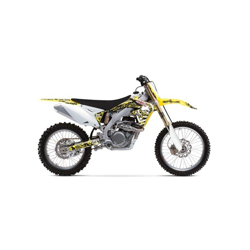 OFFER STICKERS FACTORY EFFEX METAL MULISHA SUZUKI RMZ 250