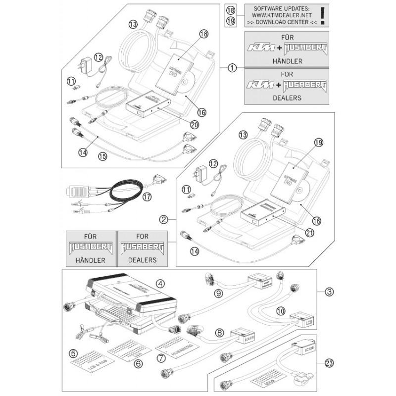 husqvarna engine diagnostic tool