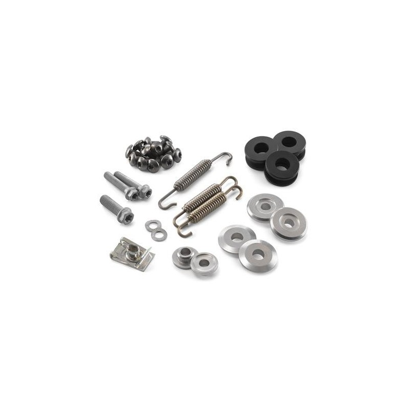 EXHAUST HARDWARE KIT KTM 200/250/300 SX/EXC (2005-2010