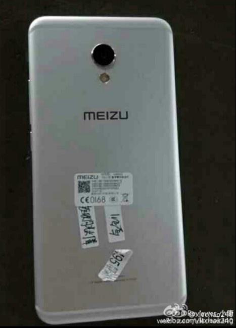 Meizu MX6 parte trasera