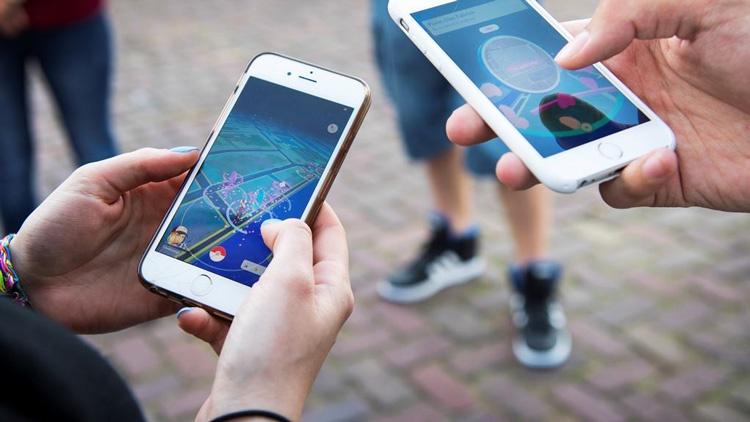 Pokémon GO ejecutándose en un smartphone
