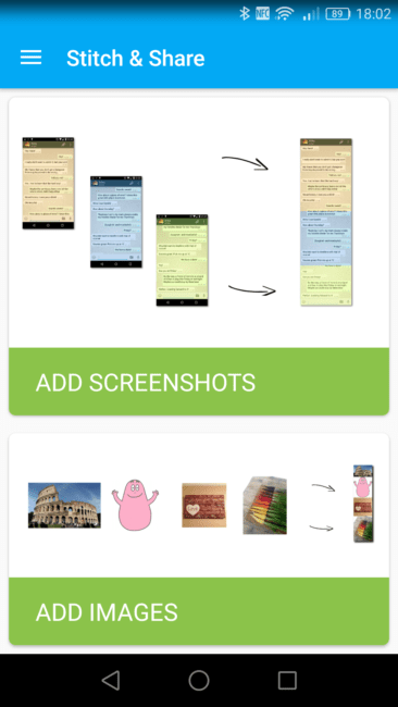 Stitch Share para Android