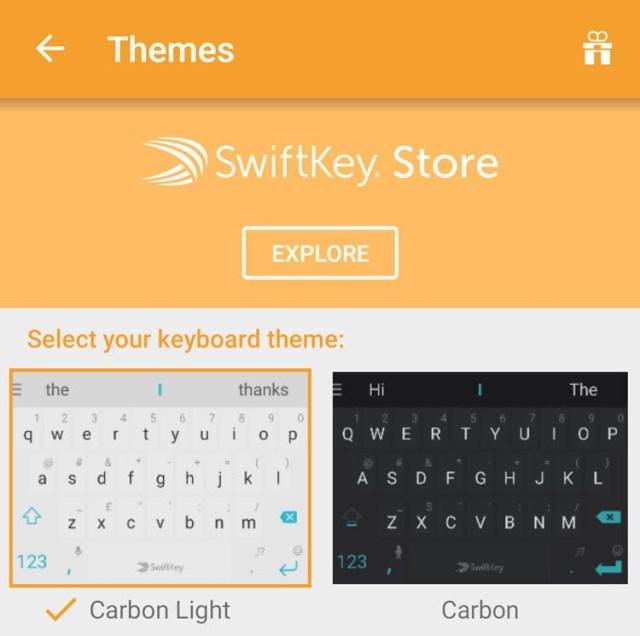 Tienda de casos para SwiftKey